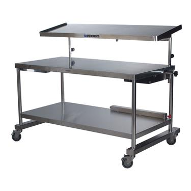 "Space Station, Central Supply Work Table, 30""D x 72""W x 34""H"