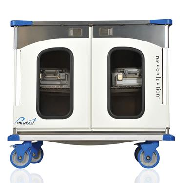 "Rev•o•lu•tion Enclosed Surgical Case Cart, 46.25""W x 42""H"