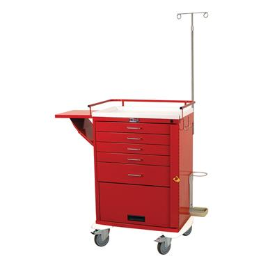 "Emergency Cart, 5 Drawers, 30""H, Specialty Pkg."