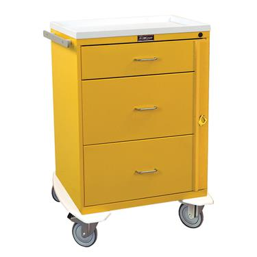 Infection Control Cart, 3 Drawers, Breakaway Lock