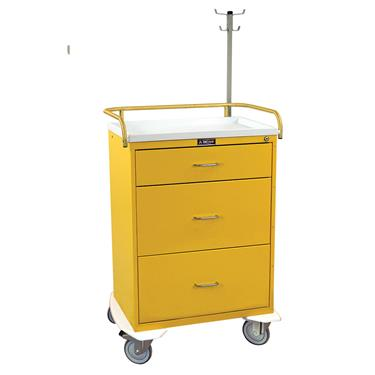 Infection Control Cart, 3 Drawers, Key Lock