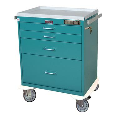 Anesthesia Workstation, 4 Drawers, E-Lock