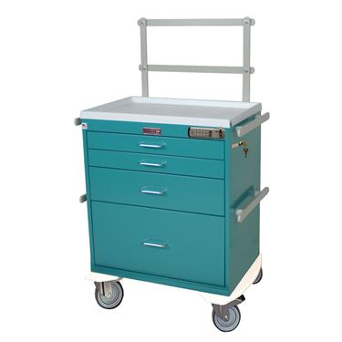 Anesthesia Workstation, 4 Drawers, Specialty Pkg.