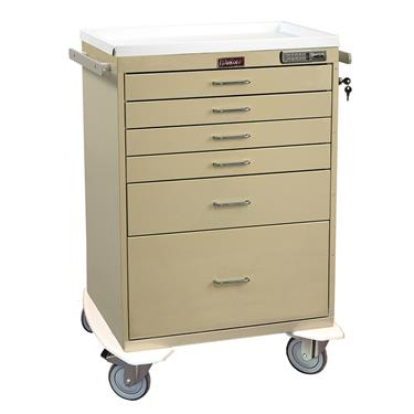 Anesthesia Workstation, 6 Drawers, E-Lock