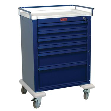 Procedure Cart, 6 Drawers, Key Lock