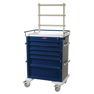Anesthesia Workstation, 6 Drawers, Access. Pkg.