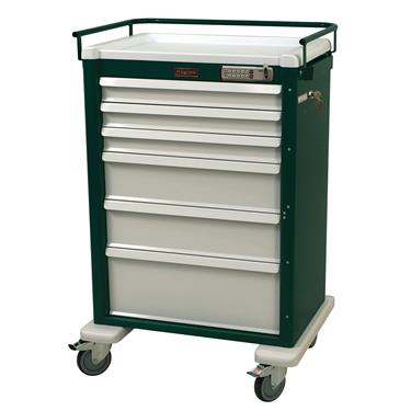 Procedure Cart, 6 Drawers, E-Lock