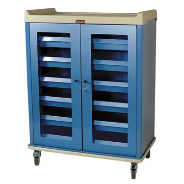 "IntraOcular Lens Storage Cart, 55.5""H, 6 Drawers"