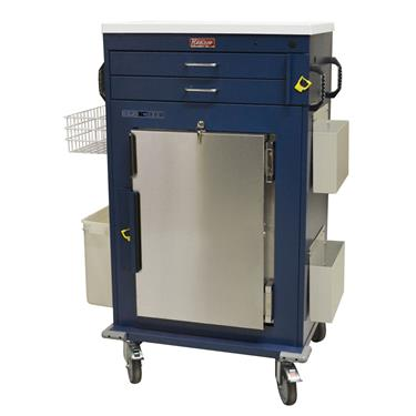 Malignant Hyperthermia Cart, Refrigerator, 2-Drawers