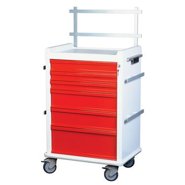 MR-Conditional Anesthesia Cart, 6-Drawers, Speciality Pkg.