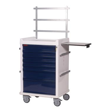 MR-Conditional Anesthesia Cart, 7 Drawers, Specialty Pkg.