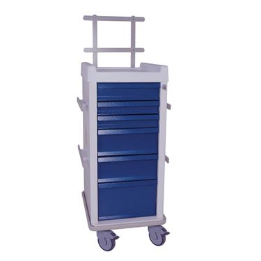 MR-Conditional Anesthesia Cart, 6 Drawers, Specialty Pkg.