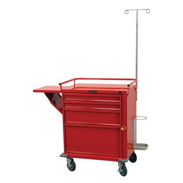 Emergency Cart, 4 Drawers, Specialty Pkg. V-Series