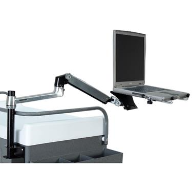 Ergotron®  Arm with Monitor Laptop Shelf