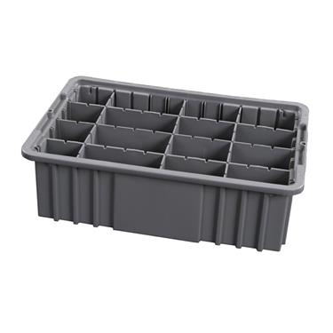 "6"" Exchange Tray w/Adjustable Dividers"
