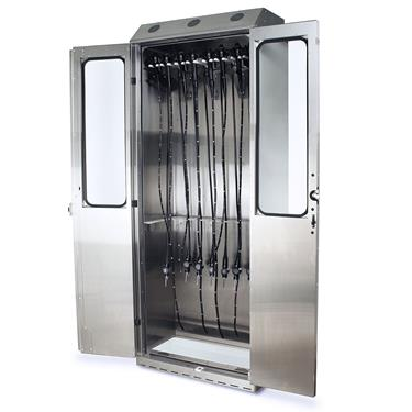 Stainless Steel 16 Scope Storage Cabinet