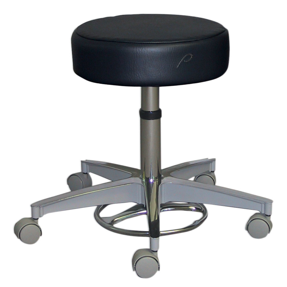Surprising Stool Gas Cylinder Foot Operated 5 Caster Aluminum Base Dailytribune Chair Design For Home Dailytribuneorg